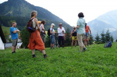 Meine erste Kräuterführung in Österreich!